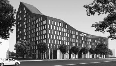 United building 400 apartments