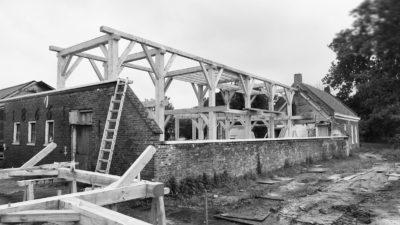 Restoration/renovation of a farmhouse