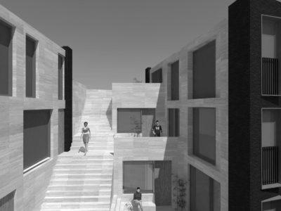 Building a new street towards the skyline